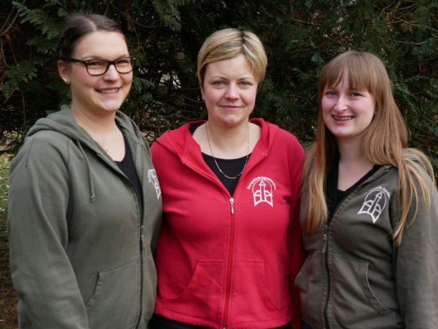 Die drei Frauen des Markleitungsteams