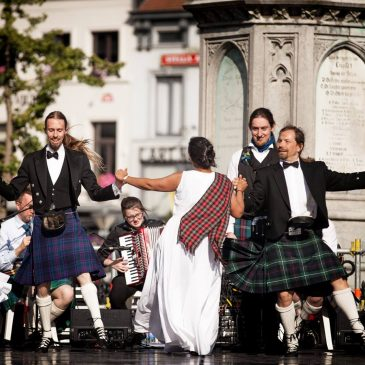 Groups of the 60th Euroweek 2018:   Edinburgh University New Scotland Country Dance Society (Edinburgh, Schottland)