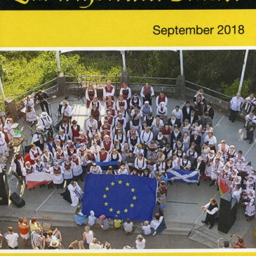 Report about the 60th Euroweek by Christian Blasi (Ludwigsteiner Blätter 09/2018)