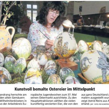 """""""Striche mit schwarzer Tusche"""" HNA (Witzenhäuser Allgemeine) 01.04.2019"""