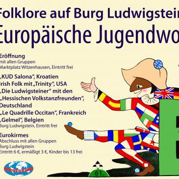 61. Europäische Jugendwoche Burg Ludwigstein 27.7.-3.8.2019