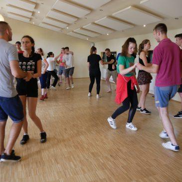 Ergebnis des Lindy Hop Workshops Eurowoche 2019 auf Facebook