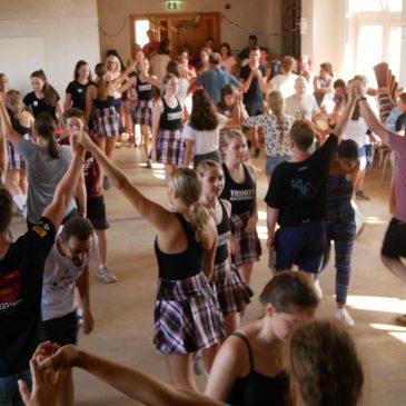 We learn Irish Dances – Eurowoche 2019