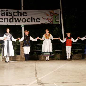 """""""Starkbiersuite"""" from The Ludwigsteiner und The Hessian Folk Dance Friends – Eurowoche 2019"""