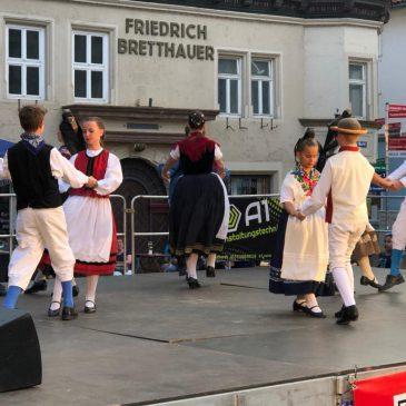 """Rutsch hi, rutsch her"" Youth group of the Ludwigsteiner at Eurowoche 2019"