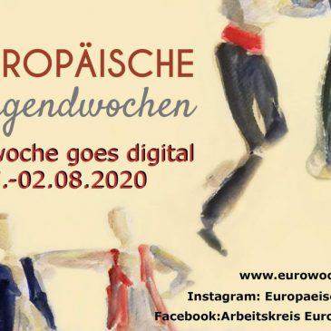 """Eurowoche goes digital (Vielen Dank an """" Animarijke. Marijke Visterin aquarellen """" für diesen gelungenen Banner!)"""