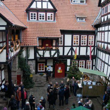 """Pressetext: """"35. Advent auf der Burg Ludwigstein"""""""