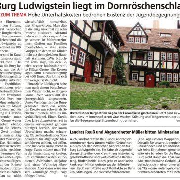 Help! Ludwigstein Castle in danger!
