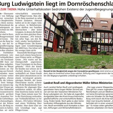 Hilfe!! Ludwigstein in Gefahr!